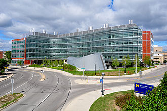 University of Michigan - A. Alfred Taubman Biomedical Science Research Building at the U-M Medical School