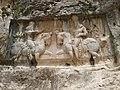 Bishapur V relief Bahram Ist.JPG