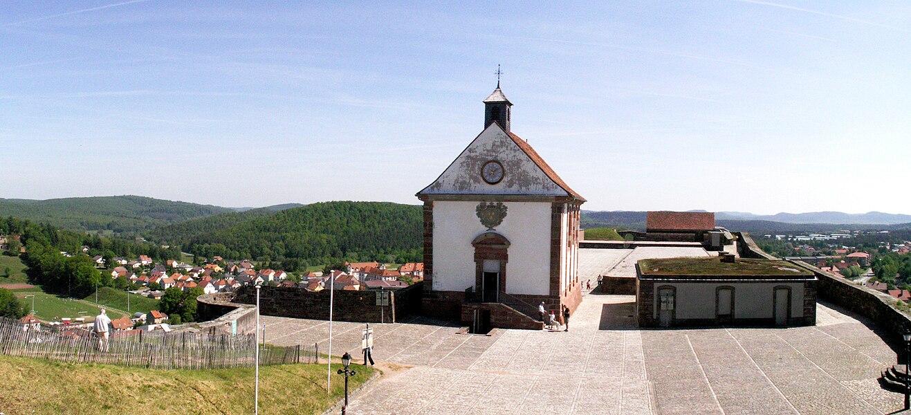 Citadelle de Bitche (Moselle, France): la chapelle