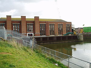 South Forty-Foot Drain - Black Sluice pumping station at Boston, where the Drain meets The Haven