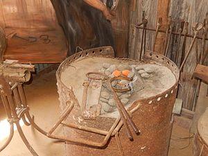 Crockett County Museum - Image: Blacksmith shop, Crockett County Museum, Ozona, TX DSCN0942