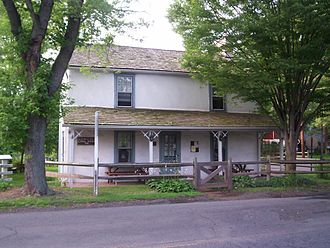 Franklin Township, Somerset County, New Jersey - Blackwells Mills Canal House in the Somerset section of Franklin Township