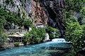 Blagaj, Dervish House and Buna River (44304160421).jpg