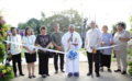 Blessing of the Liwasang Diokno, with Chel Diokno, Maris Diokno and family, and Chito Gascon.png