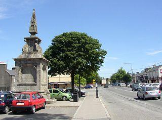 Blessington Town in Leinster, Ireland