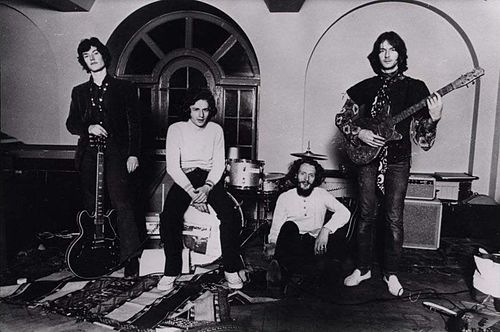 Baker (second from right) with Blind Faith, 1969 Blind Faith (1969).jpg