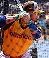 Blue Jays third baseman Josh Donaldson takes batting practice on Gatorade All-Star Workout Day. (28060275523).jpg