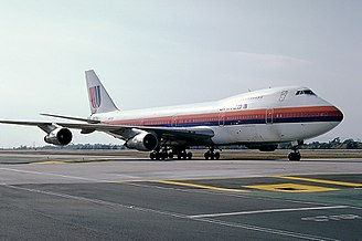 United Airlines Flight 811 - N4713U, photographed in 1982 at Los Angeles, seven years before the accident.