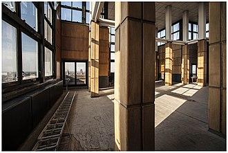 Boekentoren - Image: Boekentoren ugent belvedere 675