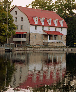 Boiling Springs Historic District - A Mill in the Boiling Springs Historic District