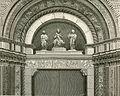Bologna Basilica di San Petronio lunetta della porta maggiore xilografia.jpg