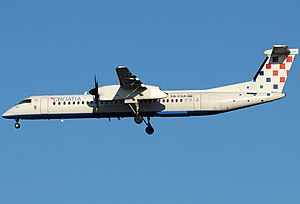 Croatia Airlines - Croatia Airlines Bombardier Dash 8 Q400