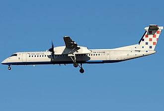 Croatia Airlines - Croatia Airlines Bombardier Dash 8 Q400