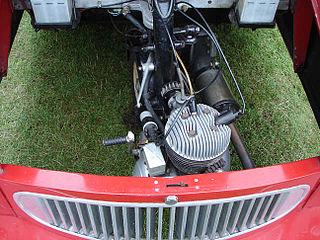 Bike-engined car