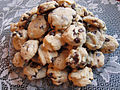 Bonnie's chocolate chip cookies on glass plate.jpg