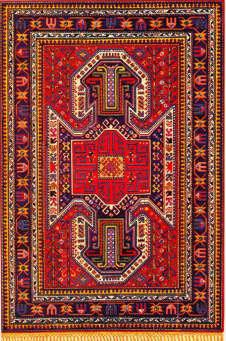 Nineteenth Century Azeri Carpet Of The Borchali Type