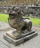Borobudur Lion Guardian