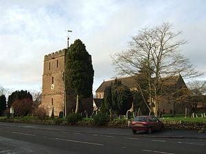 Bosbury - Image: Bosbury Holy Trinity Church, 2013