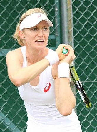 Julia Boserup - Boserup at the 2016 Wimbledon Championships