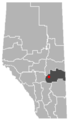 Botha, Alberta Location.png