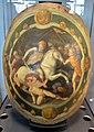 Bottega fiorentina, scudo con orazio coclite, 1550-1600 ca..JPG