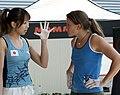 Boulder Worldcup Vienna 29-05-2010a semifinals090 Akiyo Noguchi, Anna Stöhr.jpg