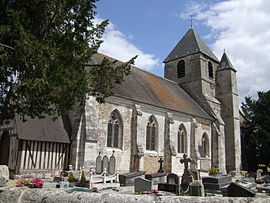 The church in Bouquetot