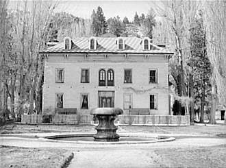 Bowers Mansion - Bowers Mansion, 1940