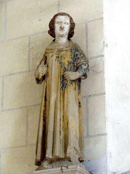 File:Bréançon (95), église Saint-Crépin-et-Saint-Crépinien, abside, statue de saint Crépinien.JPG
