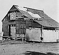 Brady, Mathew B. - Einbalsamierungsgebäude in der Nähe von Fredricksburg VA. (Zeno Fotografie).jpg