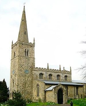 Branston, Lincolnshire - Image: Branston Church