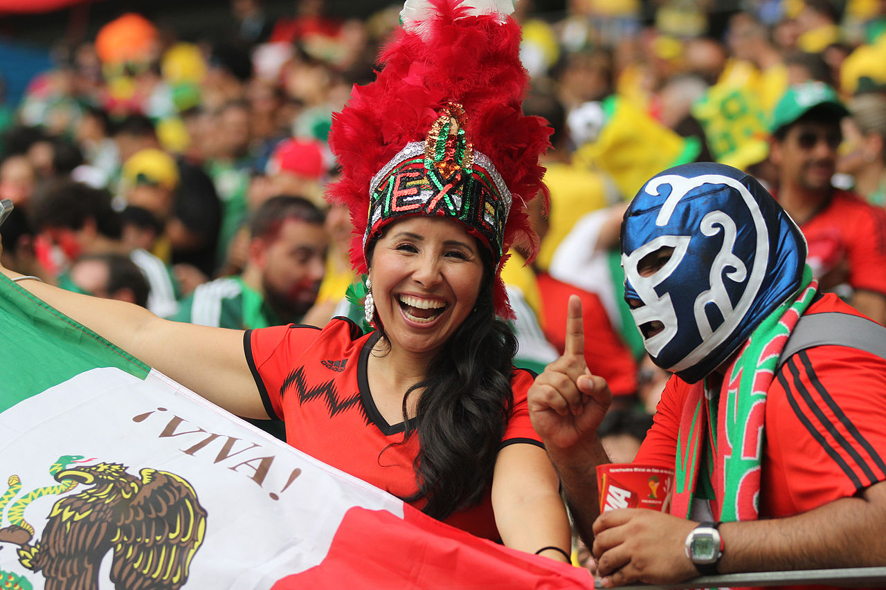 Brazil and Mexico match at the FIFA World Cup 2014-06-17 (30).jpg