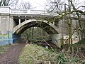 Bridge over the River Trym, decorated - geograph.org.uk - 1705385.jpg