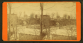 Bridge over the frozen river, from Robert N. Dennis collection of stereoscopic views.png