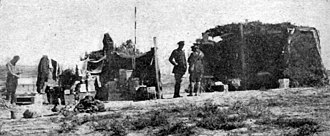 29th Division (United Kingdom) - Headquarters of the 29th Division at Cape Helles.