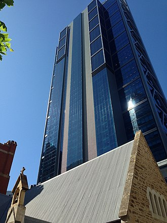 Brookfield Place (Perth) - Image: Brookfield Place (Perth) tower from nw