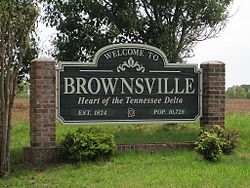 Brownsville, Tennessee.