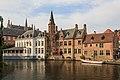Bruges Belgium De-groote-Hollander-Huidenvettersplein-12-01.jpg