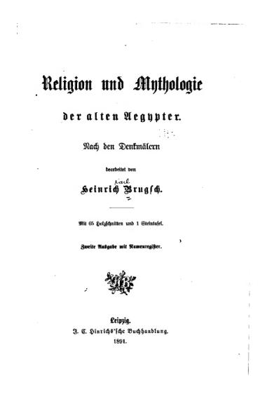 File:Brugsch Religion und Mythologie.djvu