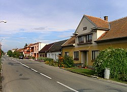 Brumovice, main street.jpg