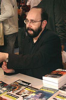 Serge Brussolo au Salon du livre de Paris en 2007