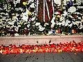 Bucuresti, Romania. Candele si flori pentru Regele Mihai I. Ultimul nostru Rege. 14 Decembrie 2017.jpg
