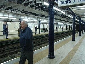 Sáenz Peña (Buenos Aires Underground) - Image: Buenos Aires Subte Sáenz Peña