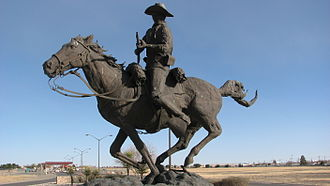 Victorio's War - A memorial to Victorio's opponents, the African-American Buffalo Soldiers
