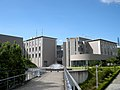 Buildings and Fountain at Kansai University (Faculty of Informatics).JPG
