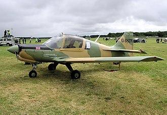 Beagle Aircraft - Image: Bulldog g bhzr arp