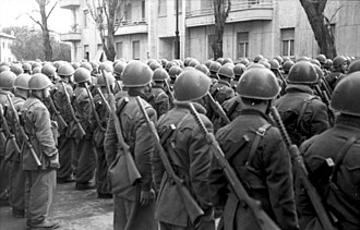Italian Social Republic - RSI soldiers, March 1944