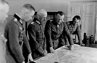 Günther Angern - Günter Angern (far right)