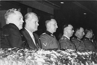 Karl Ritter von Halt - Karl Ritter von Halt is second from the left