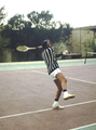 Buonaseras strongest weapon, the forehand - San Agustin (Gran Canaria) - 1978.png